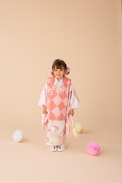 3歳 菊小道 ピンク (3)