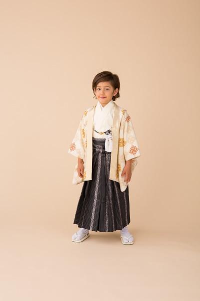 5歳 菱華文 クリーム (1)